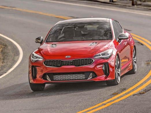 2018 kia automobiles. contemporary automobiles 2018 kia stinger gt2 rwd intended kia automobiles