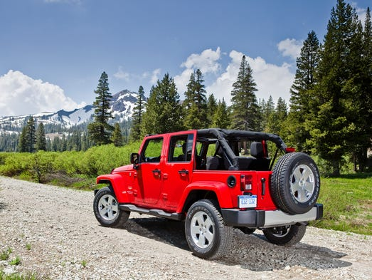 Consumer Reports says the Jeep Wrangler Unlimited is