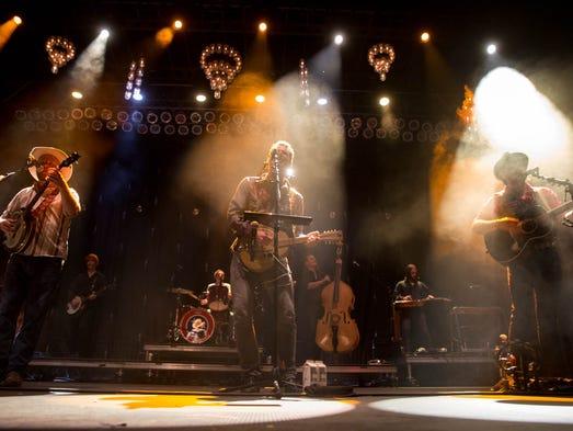 Old Crow Medicine Show performs Saturday, Aug. 1, 2015,