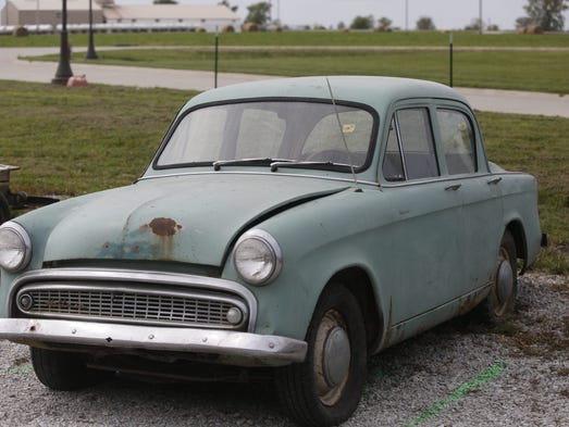 Up for bids one man s astounding antique car collection