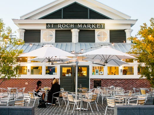 Originating in 1875, St. Roch Market re-opened in 2015