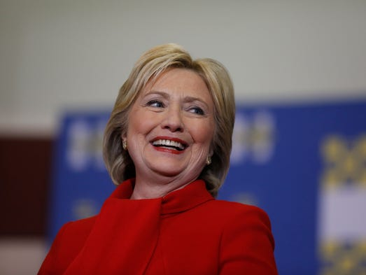 Hillary Clinton speaks at Valley Southwoods Freshman