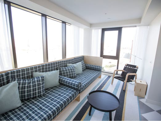 Luxury suites offered at the Asbury Hotel.Asbury Park,