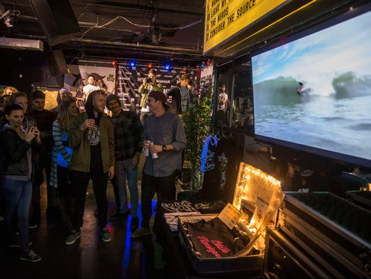Surfers from up and down the east coast converge on