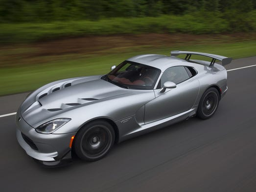 Viper Factory In Detroit To Close After Fiat Chrysler