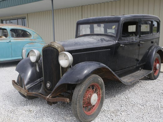 Up for bids one man 39 s astounding antique car collection for 1932 plymouth 4 door sedan