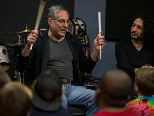 Max weinberg on his jukebox keith moon and springsteen on for Jersey house music
