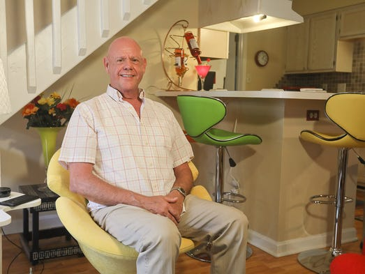 Ron Hopper at his home in Louisville, KY. Aug. 30,