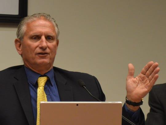 Yorktown Supervisor Michael Grace presided over the Yorktown Town Board on Sept. 5.