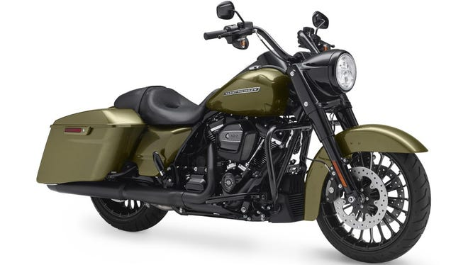 The Harley-Davidson 2017 Road King Special is one of the bikes being recalled for a clutch issue.