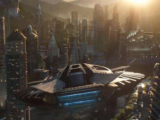 Various aspects of Africa were used as influences to create the technologically advanced nation of Wakanda.