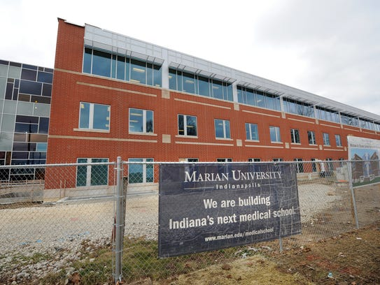 The Michael A. Evans Center for Health Sciences on the campus of Marian University is the second medican school in the state after the IU Health system and the first new one in more than 100 years. Matt Detrich / The Star