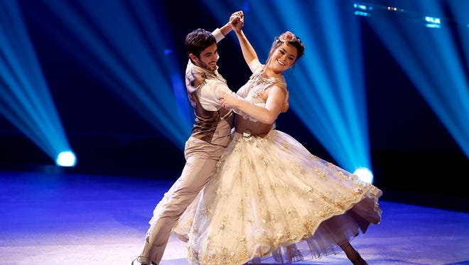 """Valerie Rockey performs with Ricky Ubeda during an episode of """"So You Think You Can Dance."""""""