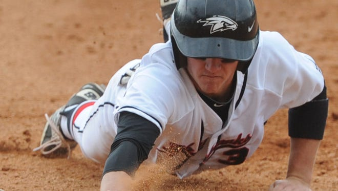 Jordan Ferrell and North Buncombe will play in Friday's fourth round of the NCHSAA 3-A baseball playoffs.