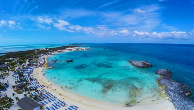 Great Stirrup Cay, Norwegian Cruise Line's private island in the Bahamas, is emerging from a major makeover that has brought new and revamped food venues, rebuilt cabanas and expanded areas of powdery white sand.