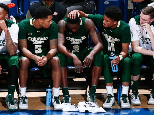 NCAA Basketball: Colorado State at Air Force