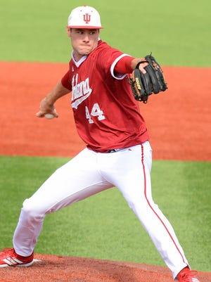 Jake Kelzer (pictured) announced his intention to return for another season at IU on Tuesday.