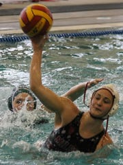 Milford's Skyler Fontaine is the 2016 girls water polo player of the year.