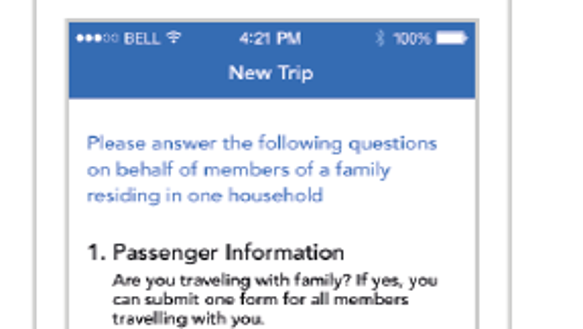 Filling out your customs forms theres an app for that an image of a new app from us customs and border protection photo us customs and border protection altavistaventures Gallery