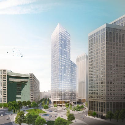 Project features 35-story tower in Detroit's downtown
