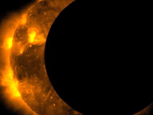 Annular Solar Eclipse Observed