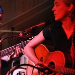 Multi-instrumentalist Carrie Hamby is one half of the musical duo Belmont & Jones.
