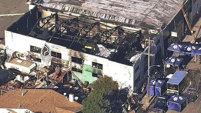Oakland will pay $32.7 million to settle lawsuits filed over a 2016 fire at an illegally converted warehouse dubbed the Ghost Ship that killed 36 people. The City Council authorized the settlements Thursday.
