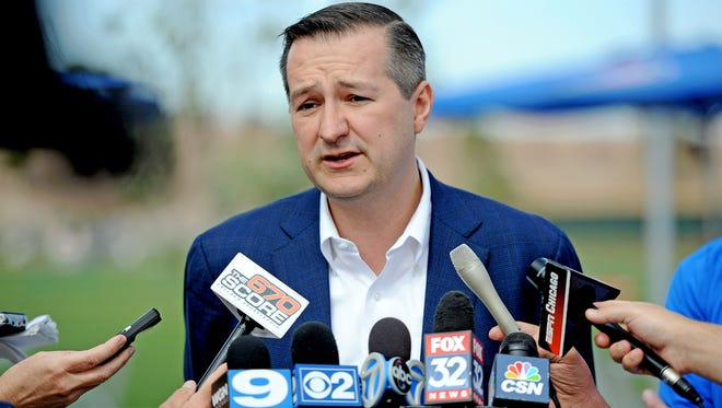 Cubs Chairman Tom Ricketts is facing a big year for Wrigley Field - and his team.
