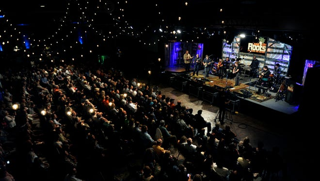 """""""Music City Roots"""" is a live weekly two-hour radio show produced at the Factory in Franklin."""