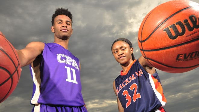 The 2015 Tennessean All-Midstate Girls and Boys Basketball Players of the Year. Blackman's Crystal Dangerfield will be heading  to Connecticut and Braxton (Blackwell) Key, formerly with CPA and now with Oak Hill Academy, will be playing for Alabama.