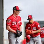 Cincinnati Reds right-hander Anthony DeSclafani calls his injury luck 'comical,' but he's not laughing