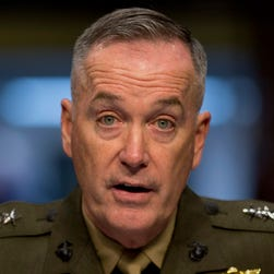In this March 12, 2014 file photo, Gen. Joseph F. Dunford, Jr. testifies on Capitol Hill in Washington.
