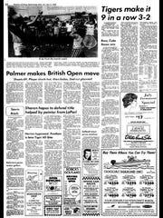 BC Sports History - July 9, 1975