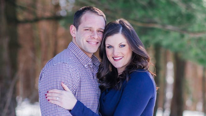 Christina M. Thompson and Cory R. Hegarty are engaged to be married March 12.
