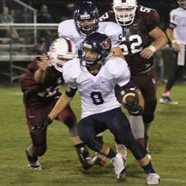 Preston Sharber ran for 111 yards and had a touchdown in Heritage's 22-21 win over Nashville Christian.