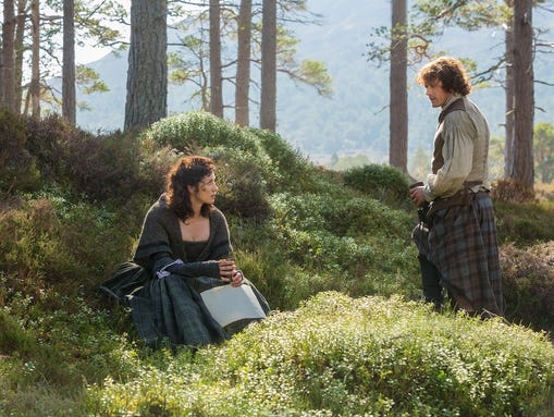 Claire and Jamie episode 6