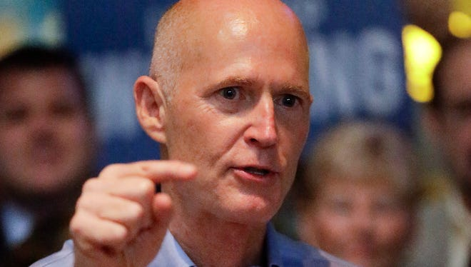 Florida Gov. Rick Scott is ordering twice daily monitoring for anyone returning from places the CDC designates as affected by Ebola