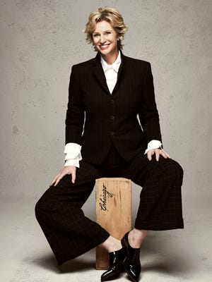 """Three-time Emmy winning actress and host Jane Lynch will bring her cabaret show, """"See Jane Sing"""" to The Cabaret on June 19-21."""