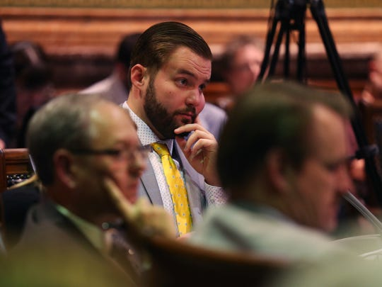 Rep. Jake Highfill, R-Johnston, wants Iowa to legalize sports betting if the U.S. Supreme Court allows it in a ruling. If Highfill gets his wish, it could put Iowa at direct odds with the NCAA when it comes to hosting its tournament games of any sort.