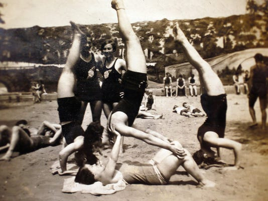 1936 Women's Gymnastics team