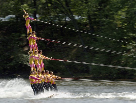 The Shermalot Water Ski Show Team will perform its