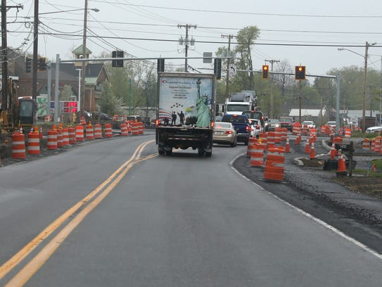 Roadwork construction is slated for this summer along