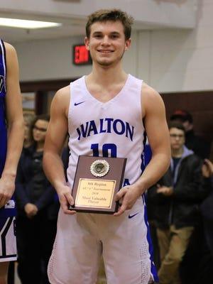 The Eighth Region MVP was Walton-Verona basketball player Brennan Stanley.
