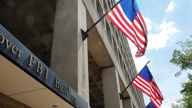 The FBI headquarters building in Washington, D.C.