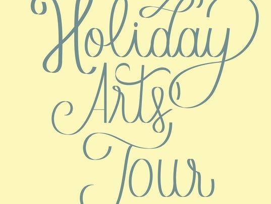Holiday Arts Tour Logo