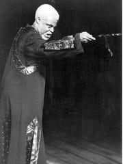 James Earl Jones played King Lear in a groundbreaking