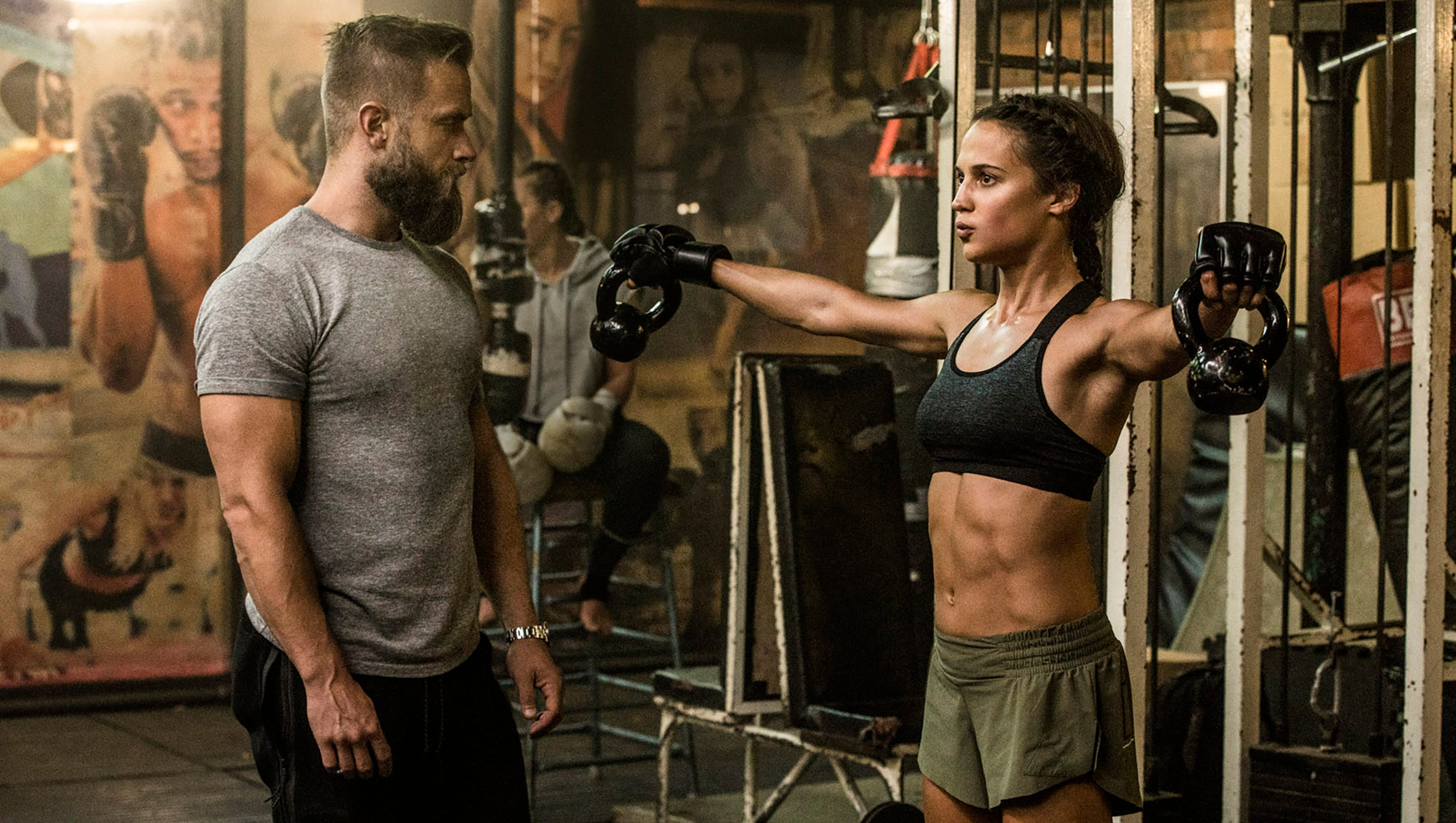 Alicia Vikander Ass how alicia vikander gained 12 pounds (of muscle) for 'tomb raider'