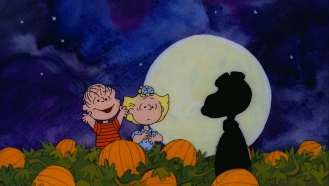 """IT'S THE GREAT PUMPKIN, CHARLIE BROWN"" - The Peanuts gang celebrates Halloween, with Linus hoping that he will finally be visited by The Great Pumpkin."