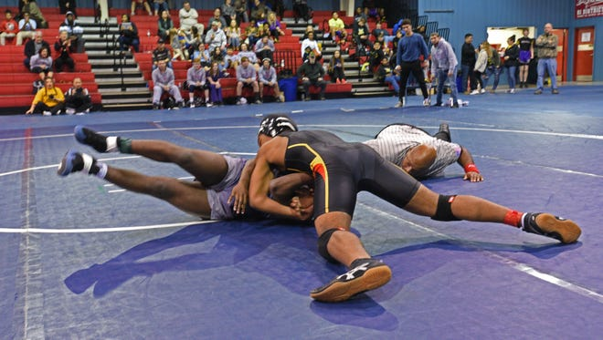 Wrestling will take center stage in Bossier City's CenturyLink Center Friday and Saturday when the LHSAA wrestling championships are held there.