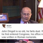 Former U.S. Rep. John Dingell reads mean tweets about himself.